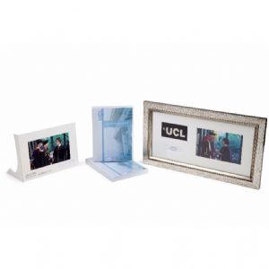 UCL Gold Package; DVD & Framed Centre Stage Photo (personalised), + Free Social Media Digital Image